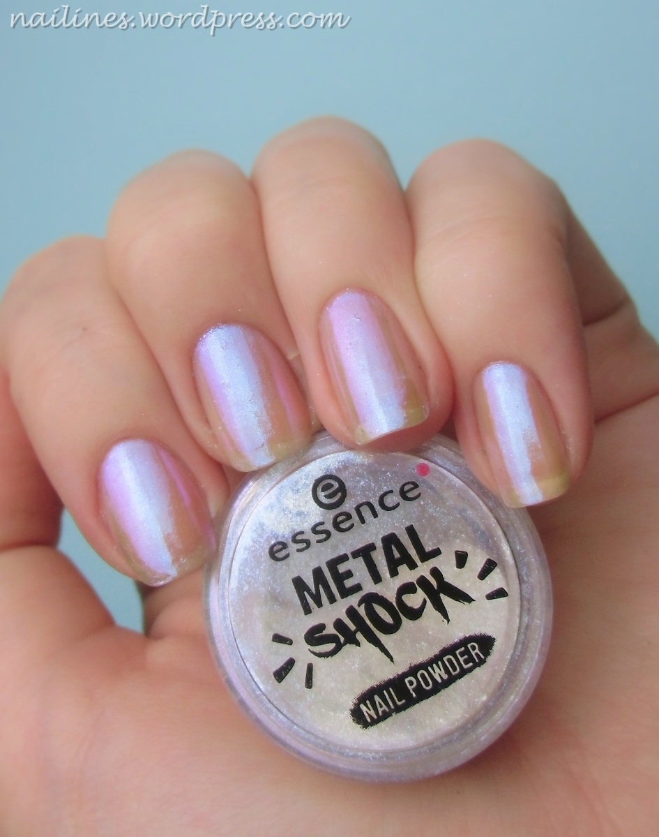 essence Metal Shock nail powder